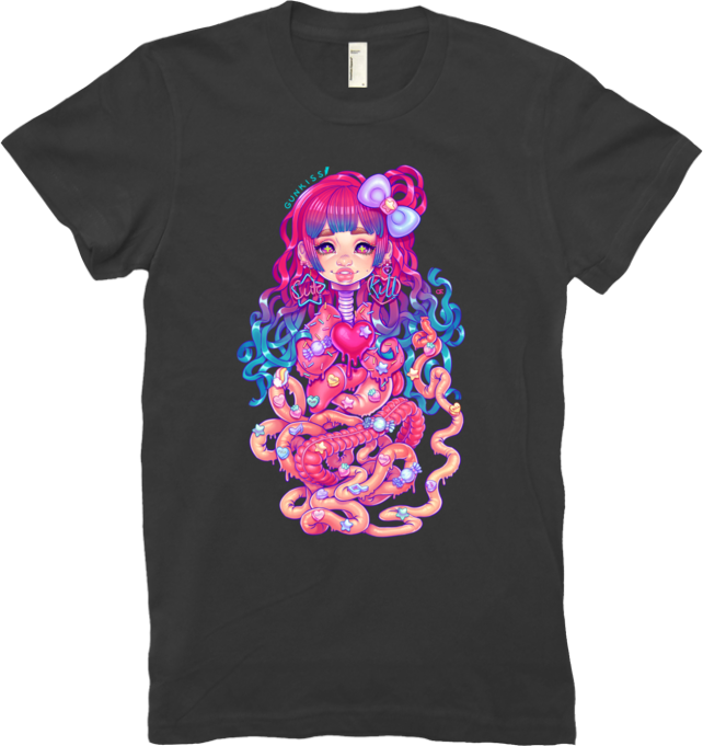 Cute Penanggalan Tee (Women's) from Gunkiss - Webcomic Merchandise
