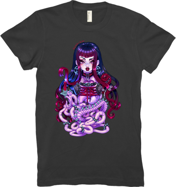 Goth Penanggalan Tee (Women's) from Gunkiss - Webcomic Merchandise