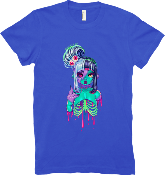 Nega-Z Cutie Tee (Women's) from Gunkiss - Webcomic Merchandise