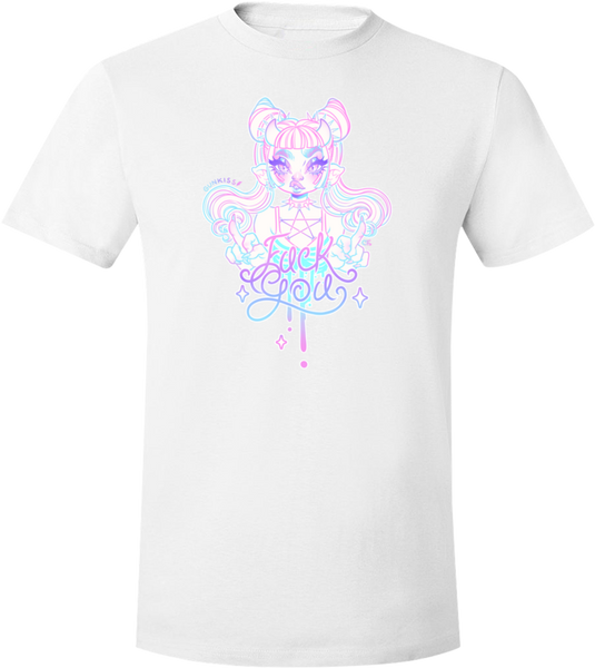 Pastel Fuck You Tee (Unisex) from Gunkiss - Webcomic Merchandise