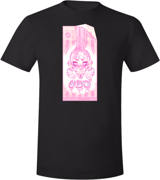 Strawberry Milk Tee (Pink/Purple) (Unisex)