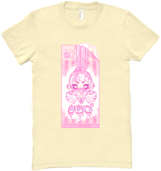 Strawberry Milk Tee (Pink/Purple) (Women's)