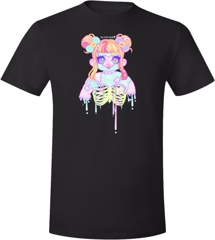 Chubby Zombie Cutie Tee (Unisex) from Gunkiss - Webcomic Merchandise
