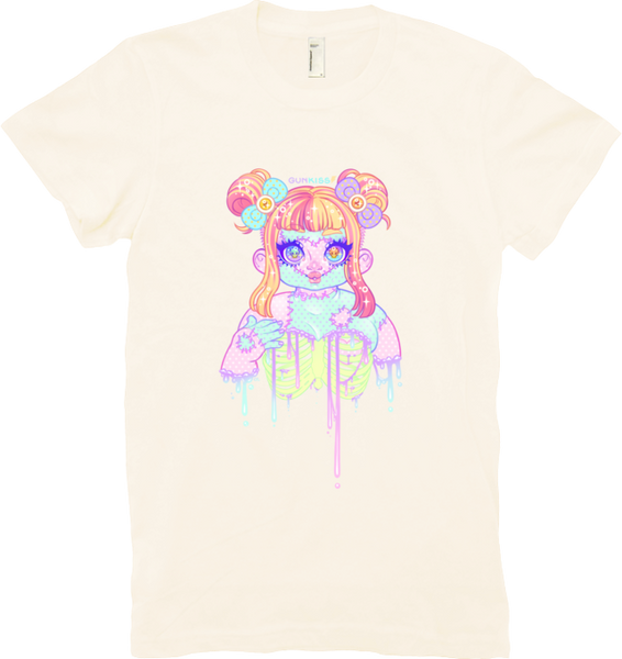 Chubby Zombie Cutie Tee (Women's) from Gunkiss - Webcomic Merchandise