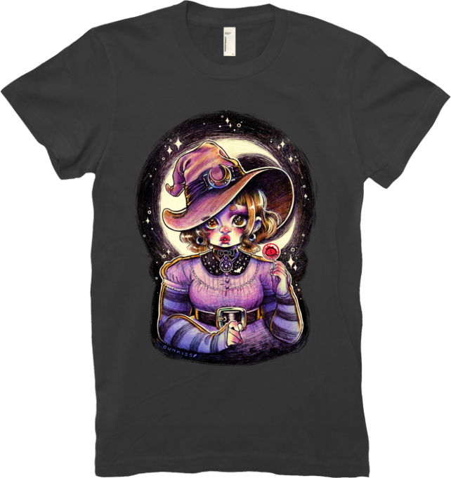 Witchy Tee (Women's) from Gunkiss - Webcomic Merchandise