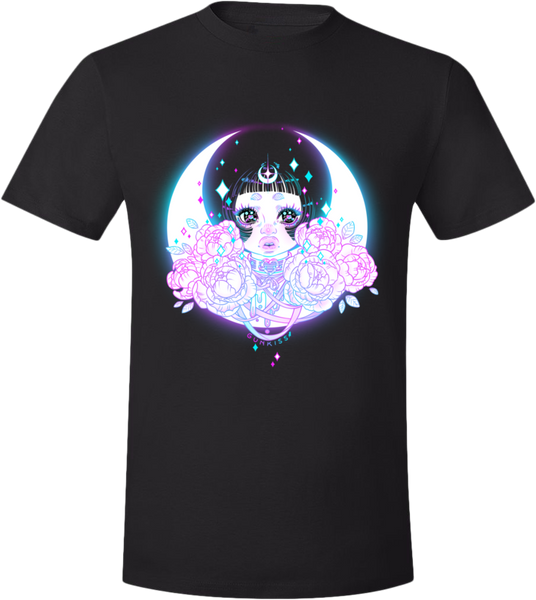 MoonChild Tee (Unisex) from Gunkiss - Webcomic Merchandise