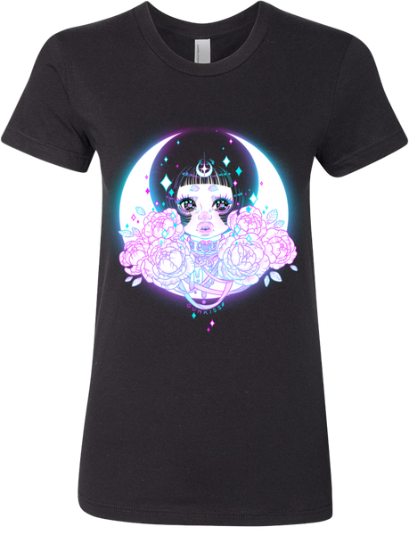 MoonChild Tee (Women's) from Gunkiss - Webcomic Merchandise