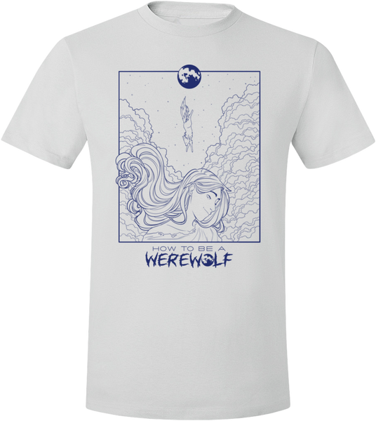 Malaya's Werewolf Headspace T-Shirt (Light, Unisex)