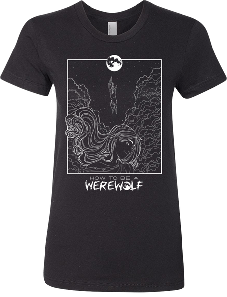 Malaya's Werewolf Headspace T-Shirt (Women's, Dark)