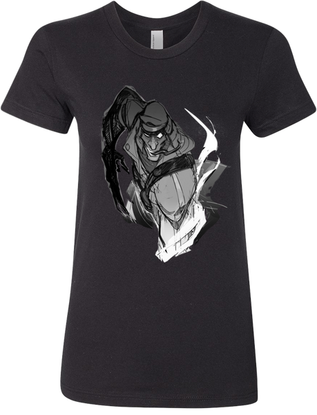 Shard Tee (Women's) from Iron Crown - Webcomic Merchandise