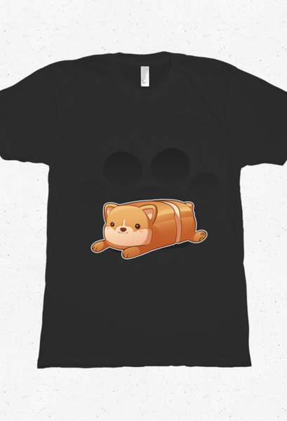 Corgi Loaf Shirt from Mary Cagle - Webcomic Merchandise