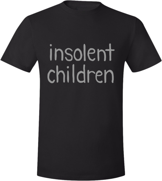 Insolent Children Shirt from Paranatural - Webcomic Merchandise