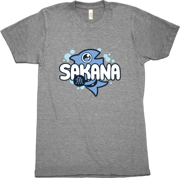 SAKANA: Logo TShirt from Sakana - Webcomic Merchandise