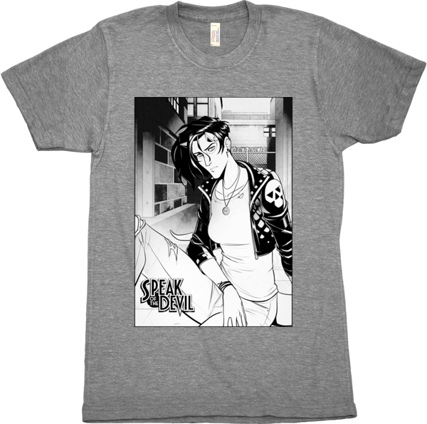 Speak of the Devil - Sunday Alley Shirt (Unisex) from M. Lee Lunsford - Webcomic Merchandise