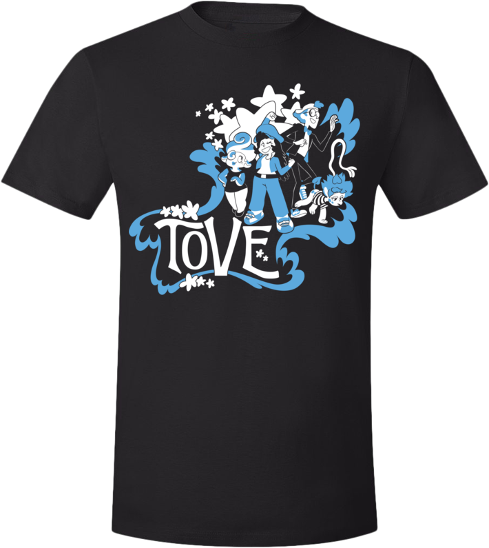 The T Crew Tee (Unisex) from Tove - Webcomic Merchandise