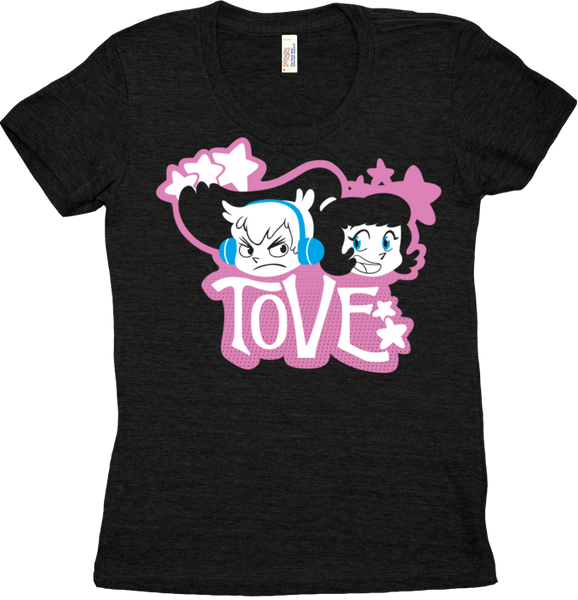 Tove Logo Tee (Women's) from Tove - Webcomic Merchandise
