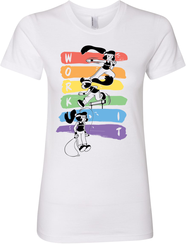 Work It! Rainbow Tee (Women's)