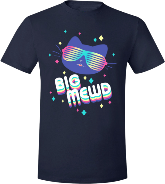 Big Mewd Tee from The Weave - Webcomic Merchandise
