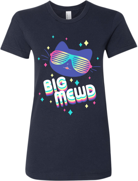 Big Mewd Tee (Women's) from The Weave - Webcomic Merchandise