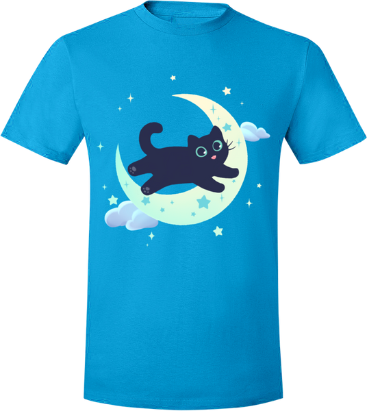 Good night, Whisper! Tee from The Weave - Webcomic Merchandise