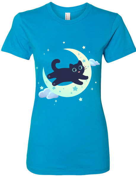 Good night, Whisper! Tee (Women's) from The Weave - Webcomic Merchandise