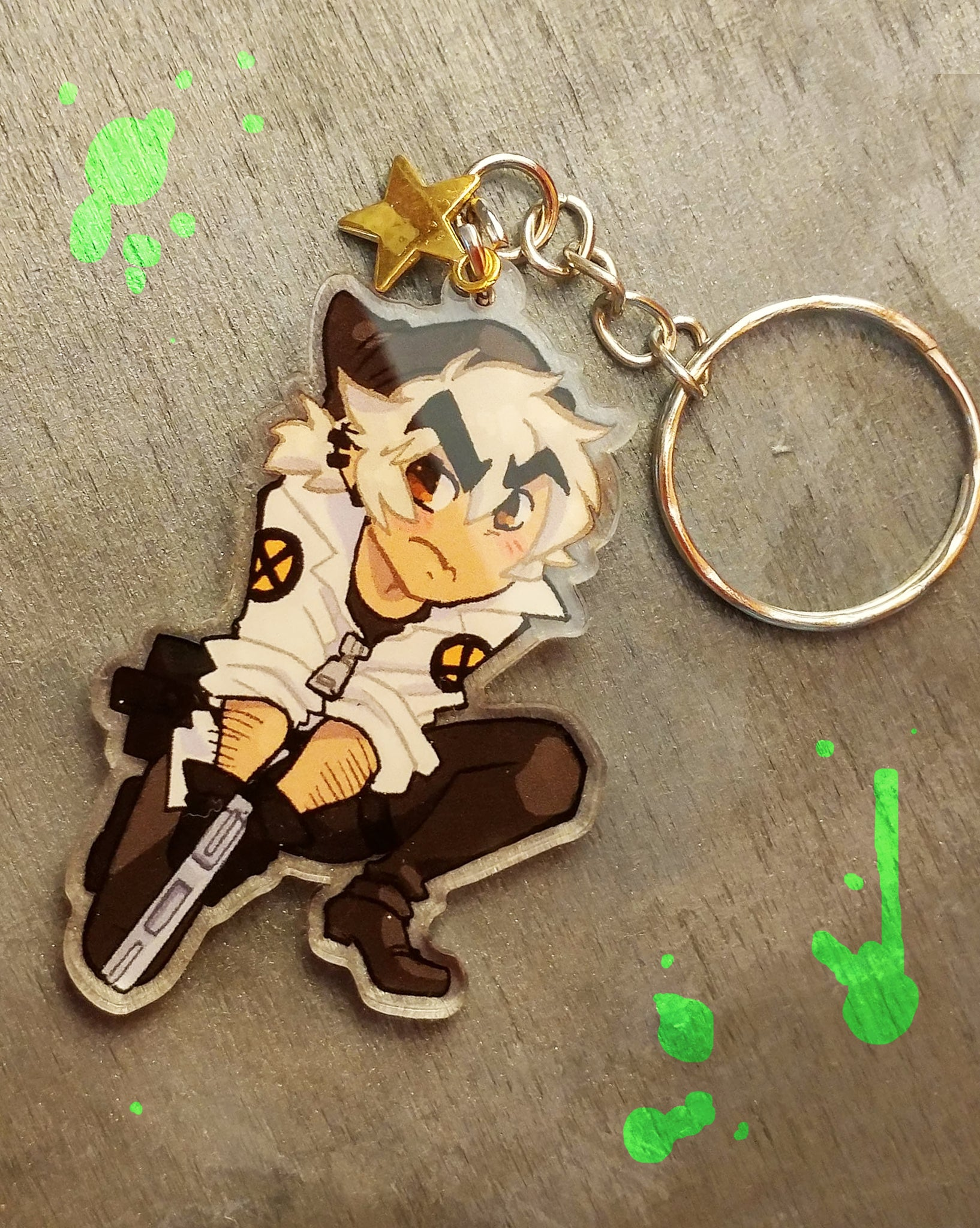 Trigger Charm from Ghost Junk Sickness - Webcomic Merchandise