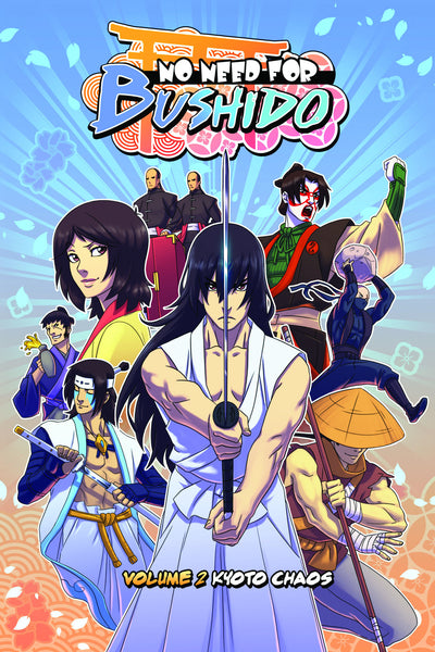 No Need for Bushido Vol. 2: Kyoto Chaos from No Need for Bushido - Webcomic Merchandise