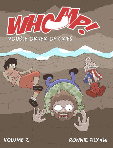 Whomp! - Volume 2 - Double Order of Cries from Whomp! - Webcomic Merchandise