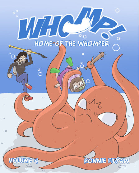 Whomp! - Volume 4 - Home of the Whomper from Whomp! - Webcomic Merchandise