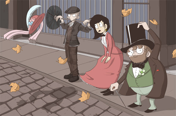 Whomp! - Dapper Dandies Print from Whomp! - Webcomic Merchandise