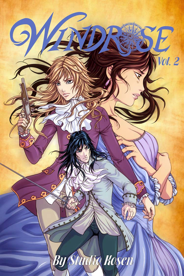 Windrose Vol 2 - Ebook from Sparkler - Webcomic Merchandise
