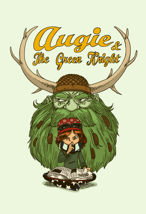 Augie and the Green Knight from SMBC - Webcomic Merchandise