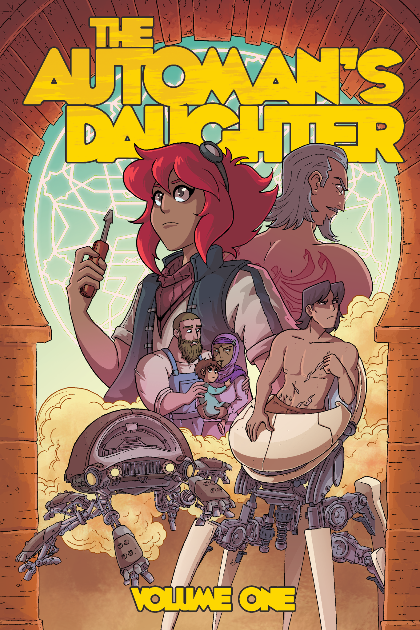 The Automan's Daughter: Volume 1 from The Automan's Daughter - Webcomic Merchandise