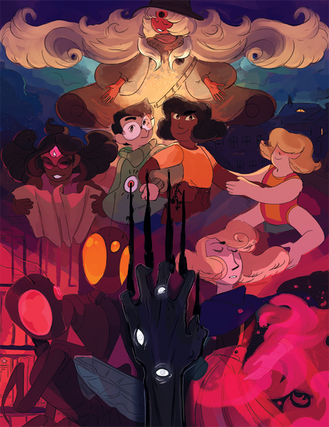Demon Street - Cast Print from Demon Street - Webcomic Merchandise