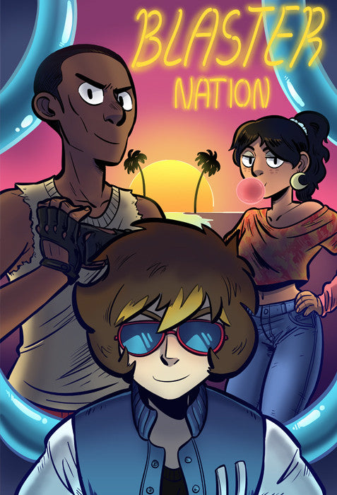 Blaster Nation - Sucre Marron Vice print from Blaster Nation - Webcomic Merchandise