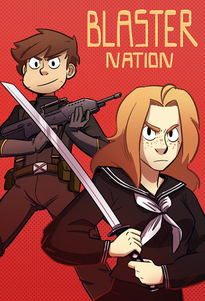 Blaster Nation - Weeaboo Royale print from Blaster Nation - Webcomic Merchandise