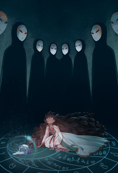 Blindsprings - Ominous Spirits print from Blindsprings - Webcomic Merchandise