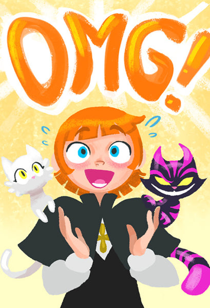 Sister Claire - OMG print from Sister Claire - Webcomic Merchandise