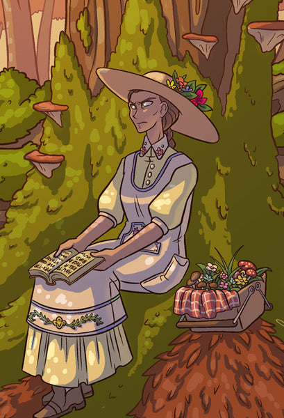 Sister Claire - Summertime Picnic print from Sister Claire - Webcomic Merchandise