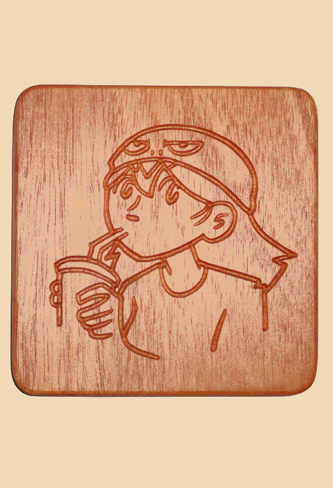 Dumbing of Age - Dina Coaster from Dumbing of Age - Webcomic Merchandise