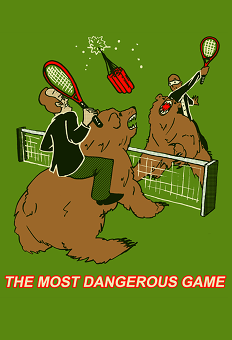 SMBC - The Most Dangerous Game Shirt from SMBC - Webcomic Merchandise