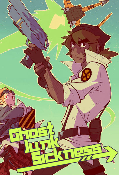 Ghost Junk Sickness - Book 1 from Ghost Junk Sickness - Webcomic Merchandise