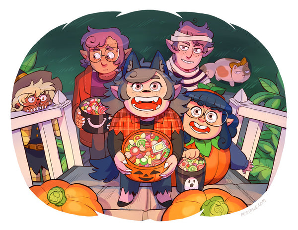 Peritale - Trick or Treat! from Peritale - Webcomic Merchandise