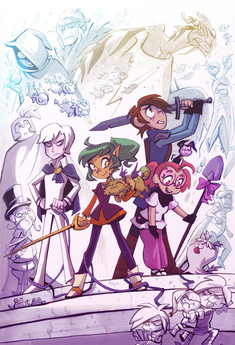 Harpy Gee - Cast print from Harpy Gee - Webcomic Merchandise