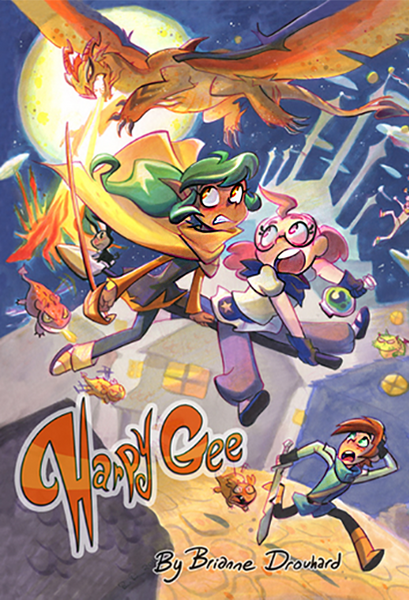 Harpy Gee - Volume 1 from Harpy Gee - Webcomic Merchandise