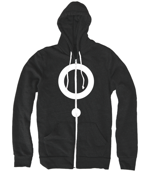 The Boy Who Fell - Hell Kitchen Hoodie in White from The Boy Who Fell - Webcomic Merchandise
