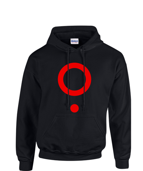 The Boy Who Fell - Hell Kitchen Hoodie in Red from The Boy Who Fell - Webcomic Merchandise