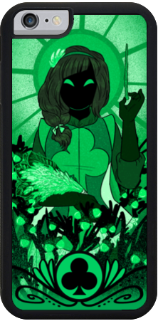 Alice and the Nightmare - Club iPhone case from Alice and the Nightmare - Webcomic Merchandise