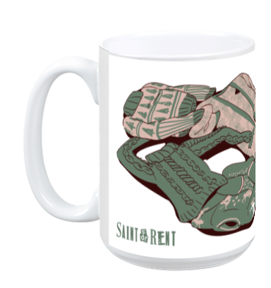 Saint for Rent - Cozy Mug from Saint for Rent - Webcomic Merchandise