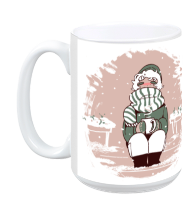 Saint for Rent - Enjoy Mug from Saint for Rent - Webcomic Merchandise